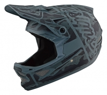 Troy Lee Designs - Kask D3 Factory Camo Green