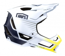 100% - Kask Trajecta White Navy